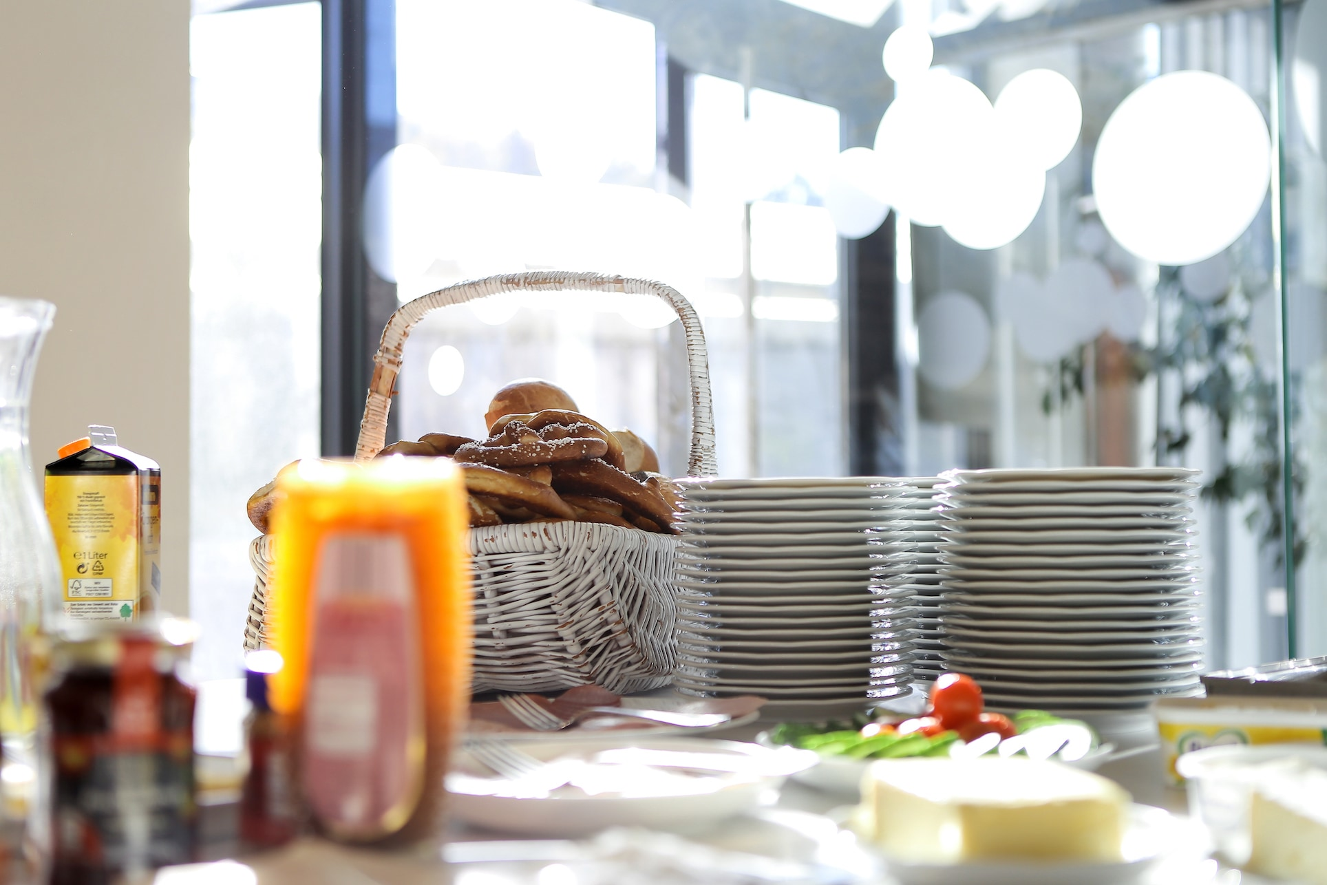 Frühstück im Gottesdienst in der Citychurch München